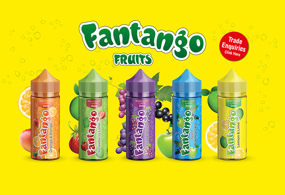 Website for Fantango brand
