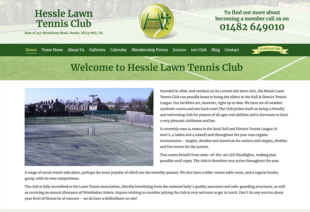 Hessle Lawn Tennis Club